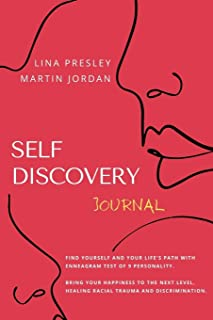 Self Discovery Journal: Find yourself and Your Life's path with Enneagram test of 9 personality. Bring your Happiness to t...