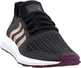 adidas Womens Swift Run Casual Sneakers, Black, 7