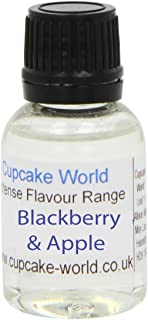 Cupcake World Aromas Alimentarios Intenso Mora y Manzana - 100 ml