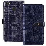 YLYT Shockproof - Blue Flip Leather TPU Silicone Luxury