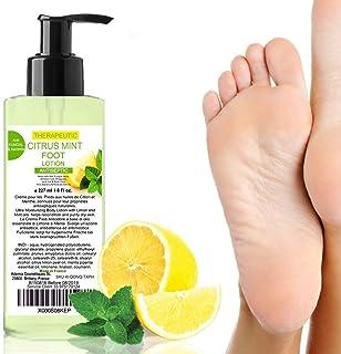 Fußcreme Zitronenöl und Minzöl 200 ml