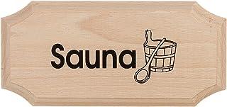 "Eliga schild 8-hoekig""Sauna"""
