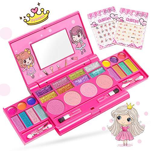 Maquillage Enfant Fille Bio Lavable - Coffret malette...