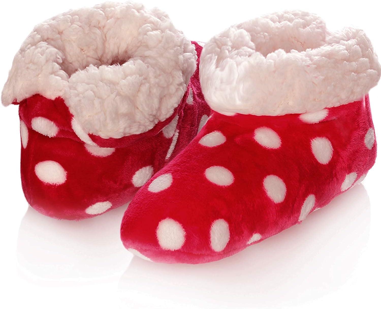 Emmalise Women's Slipper Boots Indoor Lounge Fur shoes Fur Boots for women