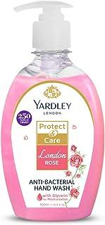 YARDLEY LONDON Rose Antibacterial Handwash with 100% Germ Protection, 500ml
