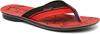 Paragon Men's Red Thong Sandals - 9 UK/India (43 EU)(PU6705G)