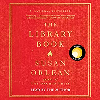 The Library Book audiobook cover art