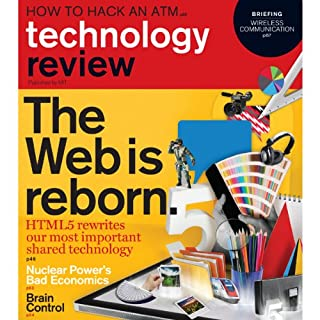 Audible Technology Review, November, 2010 audiobook cover art