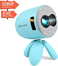 $79 » VANKYO Miracle110 Mini Portable Projector for Kids Best Gift, LED Eye Protection Video Projector 1080P Supported, Ideal for Movie Games, Cartoon, Home Theater, Compatible with TV Stick/Laptop/AV/HDMI