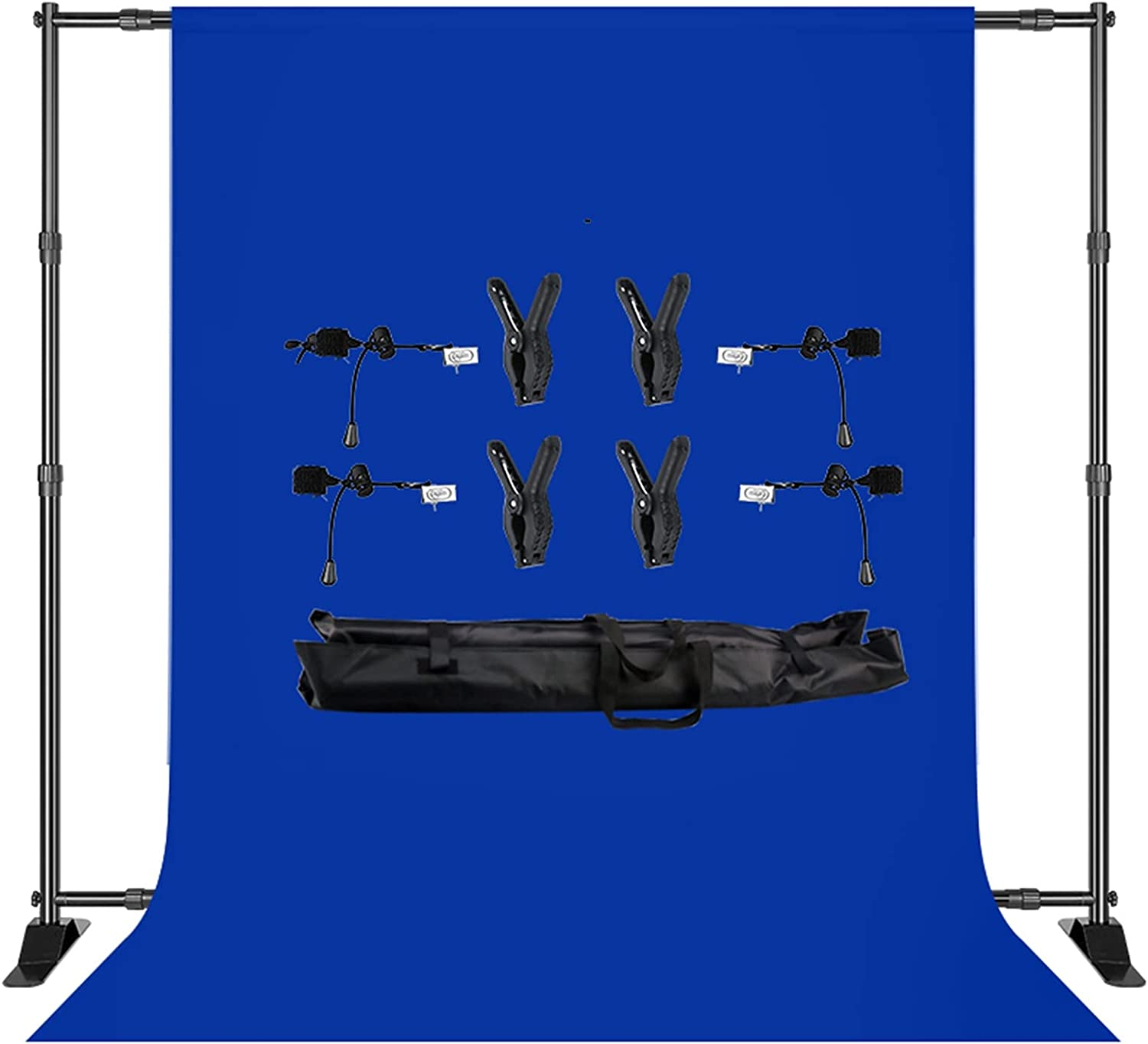 YYFANGYF Photo Video Studio Background Kit Many Be super welcome popular brands 2.7x3m Stand Double-