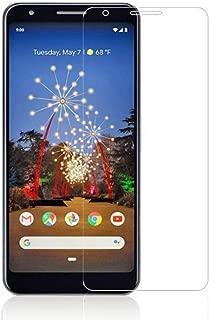 Google Pixel 3a ガラスフィルム 耐衝撃 旭硝子製 Google Pixel 3a フィルム 硬度9H 2.5Dウンドエッジ加工 自動吸着 指紋防止 液晶保護 強化ガラスフィルム