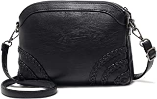 Crossbody Bag for Women Small Leather Phone Purse Wallet Shoulder Bag Trendy Ladies Wristlet Clutch