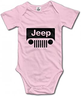 Jeep Wrangler Logo Infant Baby Girl Boy Romper Jumpsuit Outfits Clothes Sleepwear