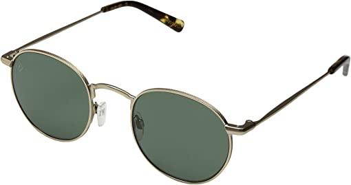 Japanese Gold/Brindle Tortoise Green Polarized