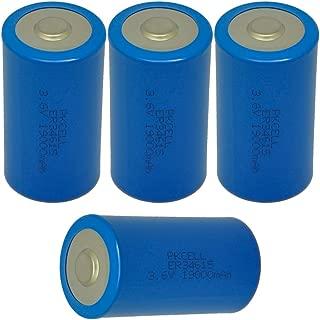 D Cell Battery 3.6v Lithium Battery ER34615 19000mAh 4 Counts