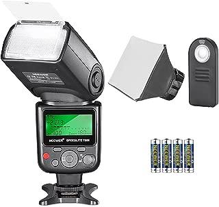 Neewer 750II TTL Speedlite Flash Kit for Nikon with IR Wireless Remote Control,AA Battery,Diffuser for Nikon D7200 D7100 D7000 D5500 D5300 D5200 D5100 D5000 D3300 D3200 D3100