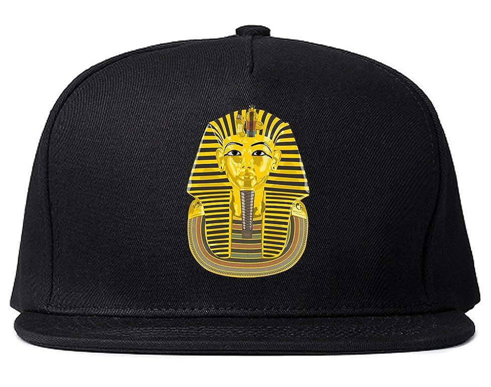 Kings Of NY Pharaoh Egypt Gold Egyptian Head Snapback Hat