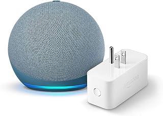 Echo Dot (4th gen.), Twilight Blue with Amazon Smart Plug