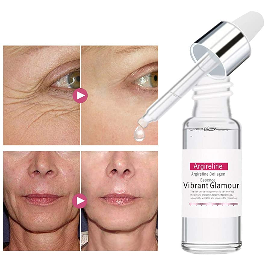 ? Yu2d ???? ?Argireline Collagen Peptides Serum Face Cream Anti-Aging Wrinkle Lift Firming Wh