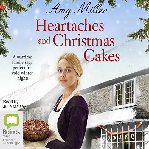 Heartaches and Christmas Cakes audiobook cover art