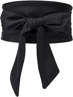 Women's Bowknot Self Tie Wrap Around Obi Waist Band Cinch Boho Waist Belt