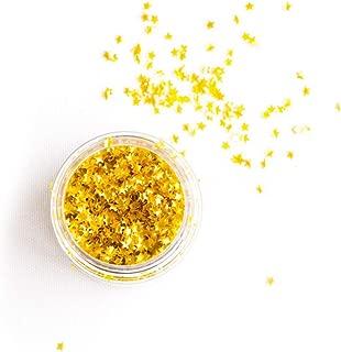 Sweetapolita Edible Sprinkles Metallic Gold Stars, 5g - 1 Ounce Jar