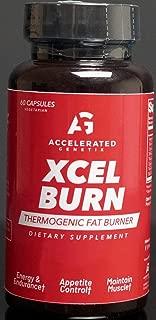 Accelerated Genetix XCEL Burn THERMOGENIC 60 Veggie Capsules