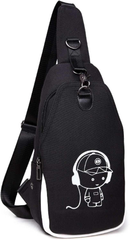 Brusttasche Herren Brusttasche Herren Schultertasche Student Outdoor Outdoor Outdoor Canvas Messenger Bag Sport Rucksack Casual Bag B07B253YCS 71d7f5