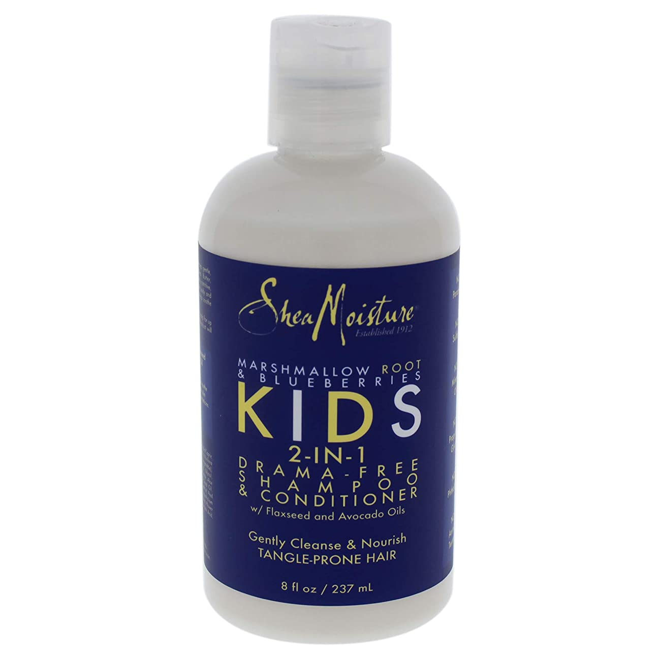 レビュー仮称低いSheaMoisture KIDS 2-IN-1 DRAMA-FREE SHAMPOO & CONDITIONER 8 fl oz