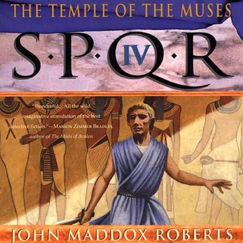 SPQR IV: The Temple of the Muses audiobook cover art