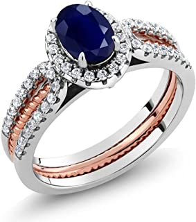 Best sterling silver two tone rings Reviews
