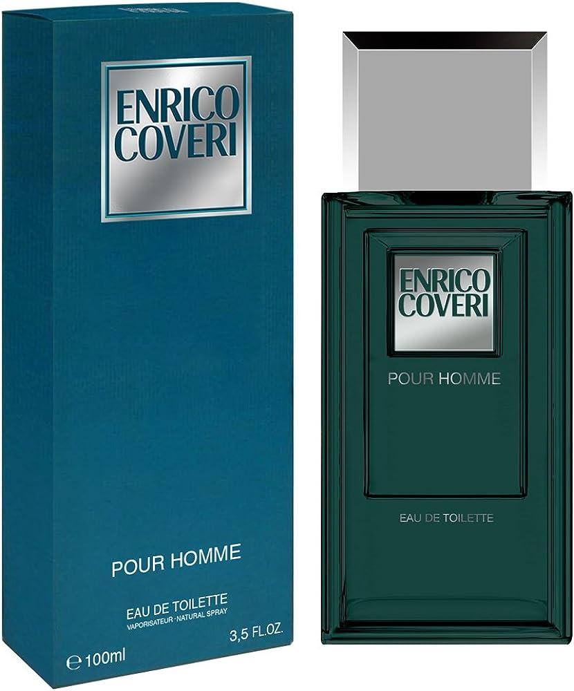 Enrico coveri pour homme, eau de toilette, profumo per uomo, 100 ml 730020