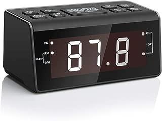 Alarm Clock Radio, Digital AM FM Clock Radio for Bedrooms or Livingroom