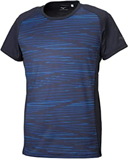 [ミズノ] トレーニングウェア グラフィックTシャツ 半袖 吸汗速乾 細身 32MA9018