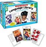 Carson Dellosa Key Education Early Learning Language Library Learning Cards (845036), 6' x 9.2' x 3.5',Multi
