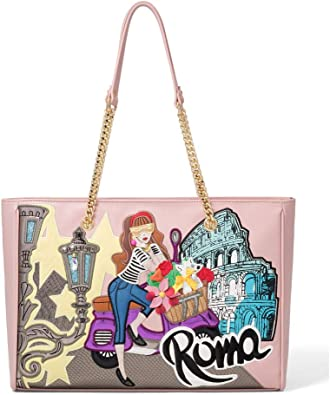 Braccialini Borsa Shopper Linea Cartoline B13975 Roma