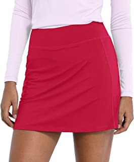 CQC Women's Active Athletic Skirt Sports Golf Tennis Running Skort with Pockets