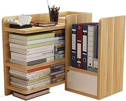 Estantería de escritorio PQXOER para escritorio, estantería ...