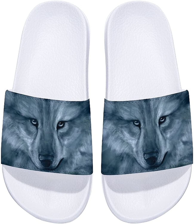 Native Finally resale start American Wolf Art Men's Slide Women's and New Orleans Mall Comfort Sandals
