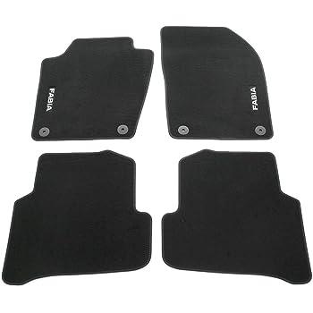 Fußmatten Auto Autoteppich Velours Set passend für Skoda Fabia III ab 2015