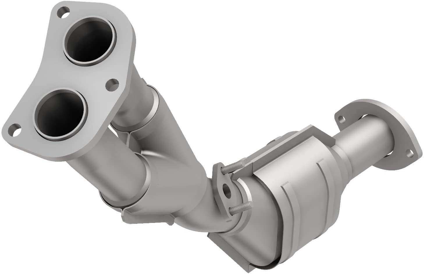 MagnaFlow 447184 Large Stainless Steel Max 75% OFF CA Legal Catal Direct Ranking TOP18 Fit