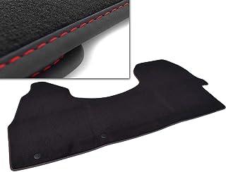 kh Teile Fußmatte (Ziernaht: Rot) Sprinter 907 Velours Automatte Original Qualität 1 teilig Fahrerhaus komplett