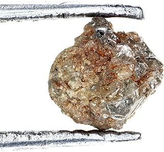Kakadiya Group Natural Loose Diamond 0.79 ct Very Sparkling Reddish Raw Diamond