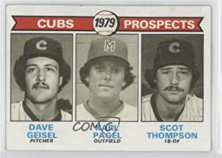 Dave Geisel; Karl Pagel; Scot Thompson Ungraded COMC Good to VG-EX (Baseball Card) 1979 Topps - [Base] #716