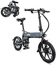 Teamyy Bicicleta Eléctrica Plegable 3 Modos Ciclismos con Batería de Litio 7,8Ah
