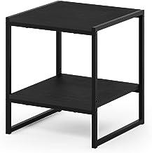 FURINNO Camnus Modern Living 2-Tier End Table, Americano