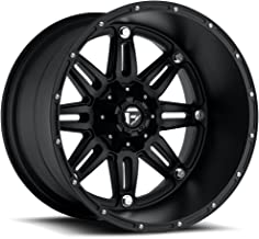 Fuel Hostage black Wheel with Painted Finish (22 x 14. inches /6 x 135 mm, -76 mm Offset)