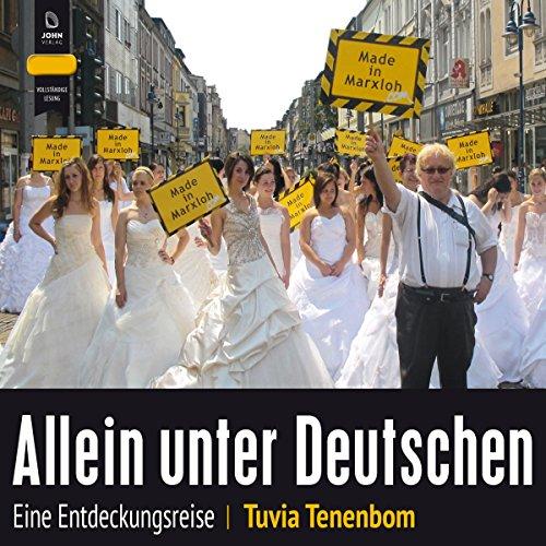 Allein unter Deutschen: Eine Entdeckungsreise audiobook cover art