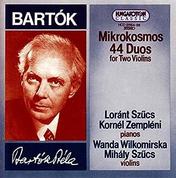 Bartók: Mikrokosmos - 44 Duos for 2 Violins
