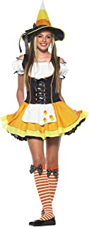 Teen Kandy Korn Witch Costume